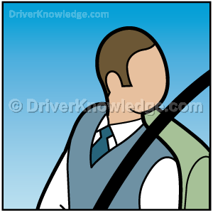 shoulder-check when changing lanes