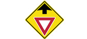 yield sign ahead