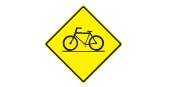 Bicyclists crossing