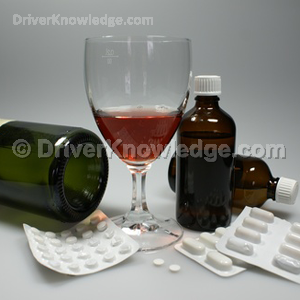 taking another drug while drinking alcoholic