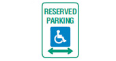 disabled persons parking