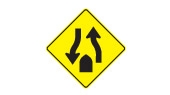 divided highway ahead